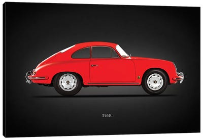 Porsche 356B 1961 Canvas Art Print
