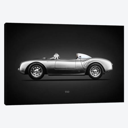 Porsche 550 Spyder 3-Piece Canvas #RGN619} by Mark Rogan Canvas Art Print