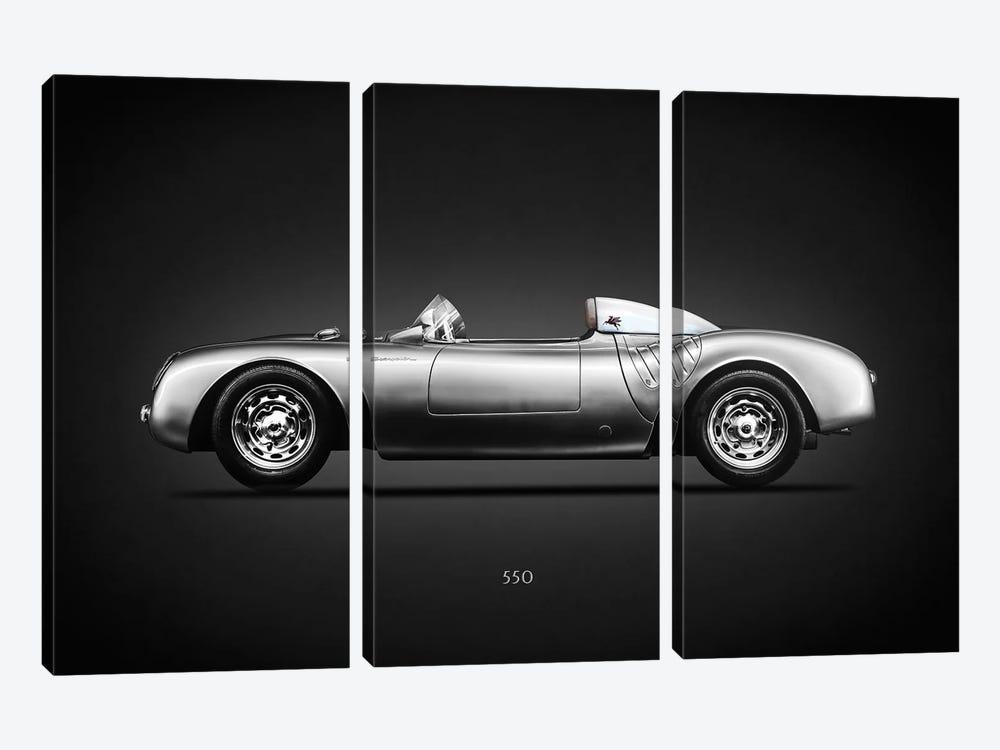 Porsche 550 Spyder by Mark Rogan 3-piece Art Print