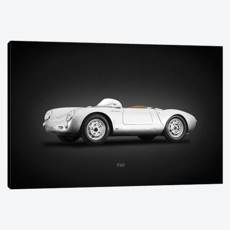 Porsche 550 Spyder Angled Canvas Print #RGN620} by Mark Rogan Canvas Wall Art