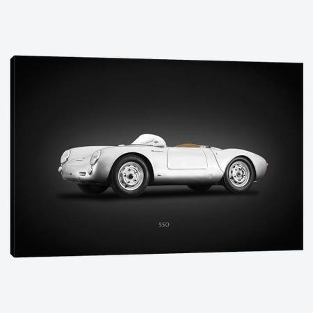 Porsche 550 Spyder Angled Canvas Print #RGN620} by Mark Rogan Canvas Wall Art