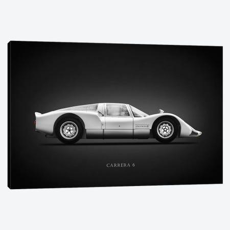 Porsche 906 Carrera6 1966 Canvas Print #RGN621} by Mark Rogan Canvas Wall Art