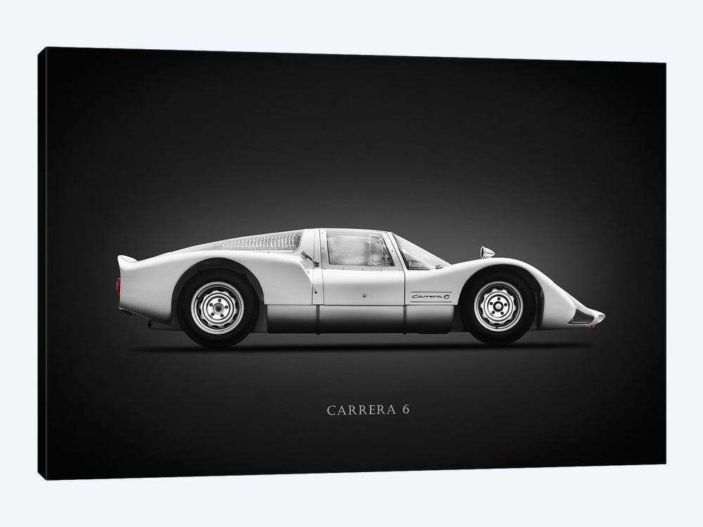 Porsche 906 Carrera6 1966 by Mark Rogan 1-piece Canvas Wall Art