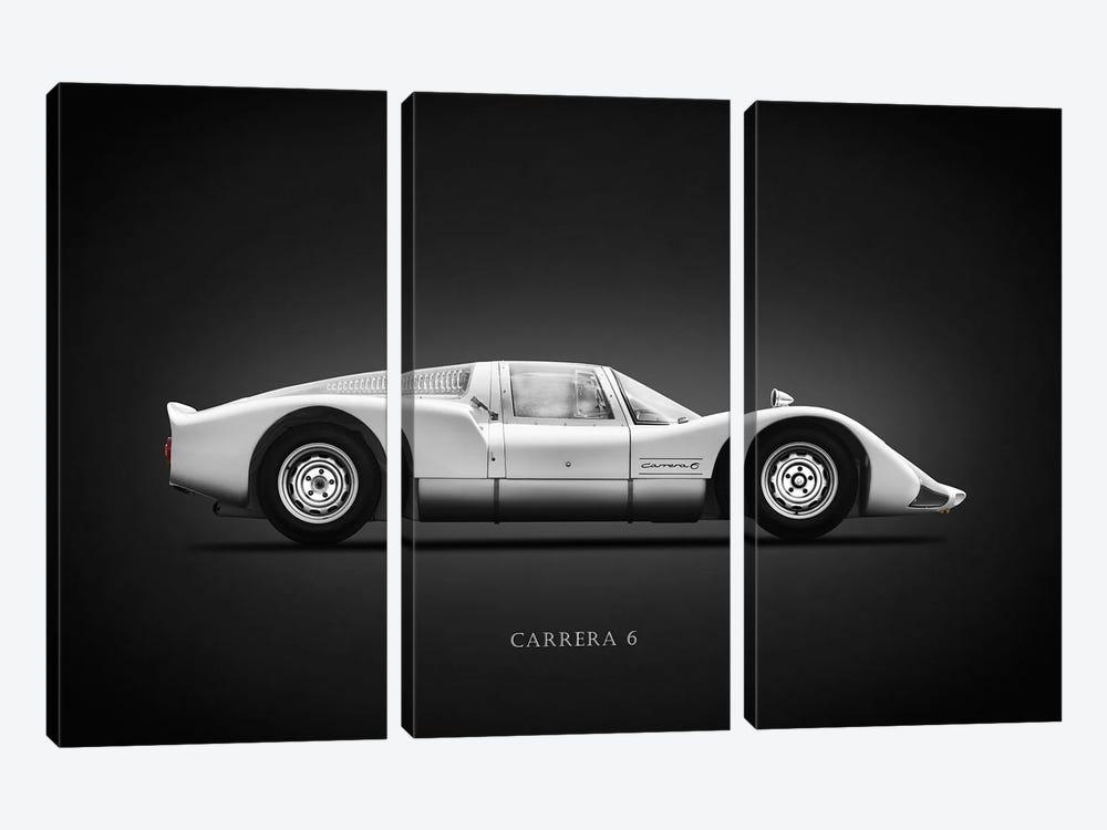 Porsche 906 Carrera6 1966 by Mark Rogan 3-piece Canvas Art