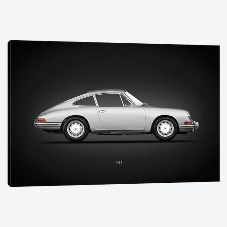 Porsche 911 1965 Coupe Canvas Print #RGN623} by Mark Rogan Canvas Art