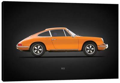 Porsche 911 1968 Canvas Art Print