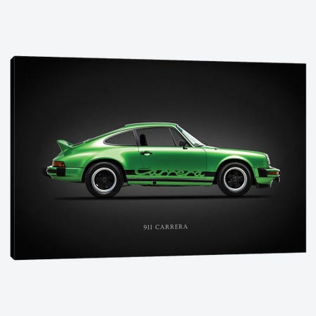 Porsche 911 Carrera 1974 Canvas Print #RGN626} by Mark Rogan Canvas Print