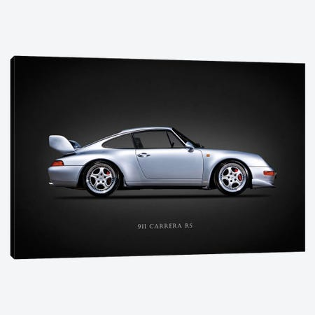 Porsche 911 Carrera RS 1996 Canvas Print #RGN627} by Mark Rogan Art Print
