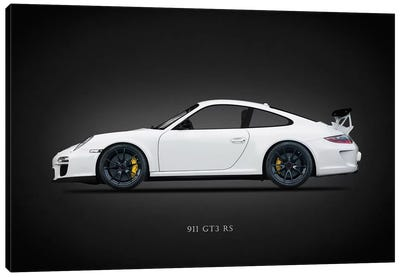 Porsche 911 GT3 RS 2011 Canvas Art Print