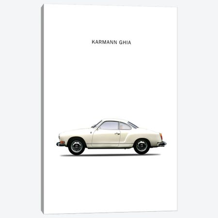 1970 Volkswagen Karmann Ghia Canvas Print #RGN62} by Mark Rogan Canvas Wall Art