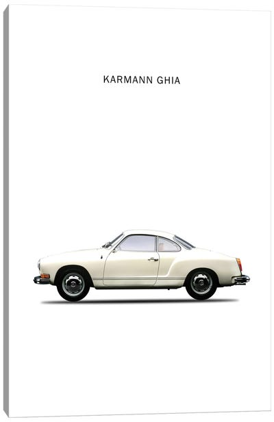 1970 Volkswagen Karmann Ghia Canvas Art Print