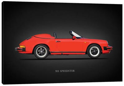 Porsche 911 Speedster 1989 Canvas Art Print
