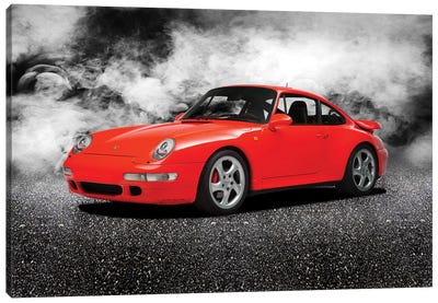 Porsche 911 Turbo 993 1997 Canvas Art Print