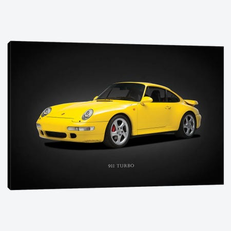 Porsche 911 Turbo 993 1997 Canvas Print #RGN632} by Mark Rogan Canvas Art Print