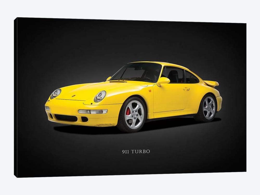 Porsche 911 Turbo 993 1997 by Mark Rogan 1-piece Canvas Artwork