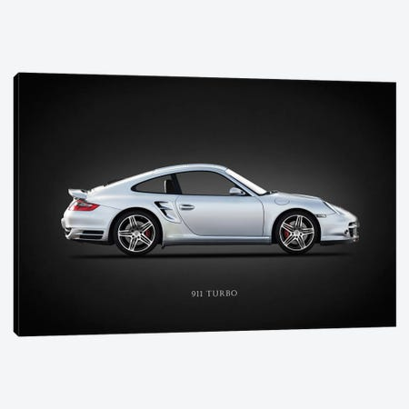 Porsche 911 Turbo 997 2007 3-Piece Canvas #RGN633} by Mark Rogan Art Print