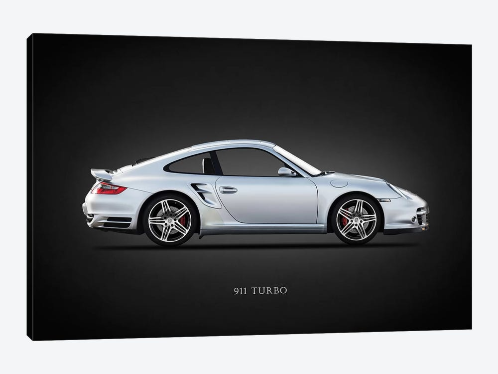 Porsche 911 Turbo 997 2007 by Mark Rogan 1-piece Canvas Art Print