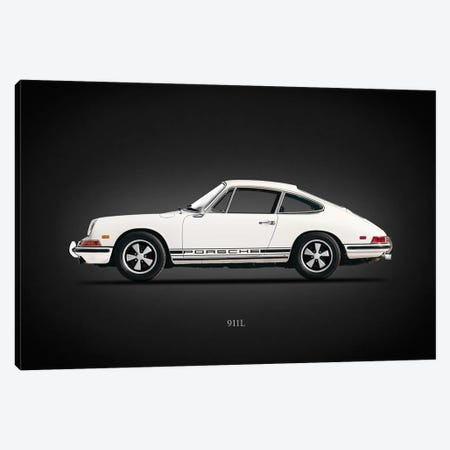 Porsche 911L 1968 Canvas Print #RGN635} by Mark Rogan Canvas Artwork