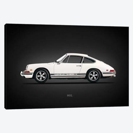 Porsche 911L 1968 Canvas Print #RGN635} by Mark Rogan Canvas Artwork