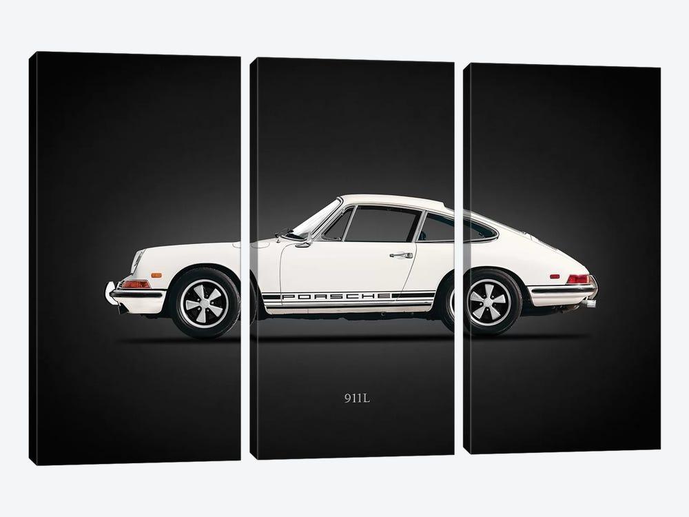 Porsche 911L 1968 by Mark Rogan 3-piece Art Print