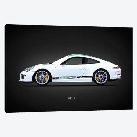 Porsche 911R Type991 2016 Canvas Print #RGN636} by Mark Rogan Canvas Art