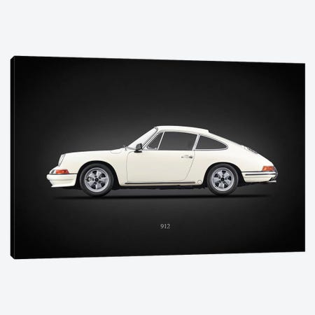 Porsche 912 1967 Canvas Print #RGN638} by Mark Rogan Canvas Art Print
