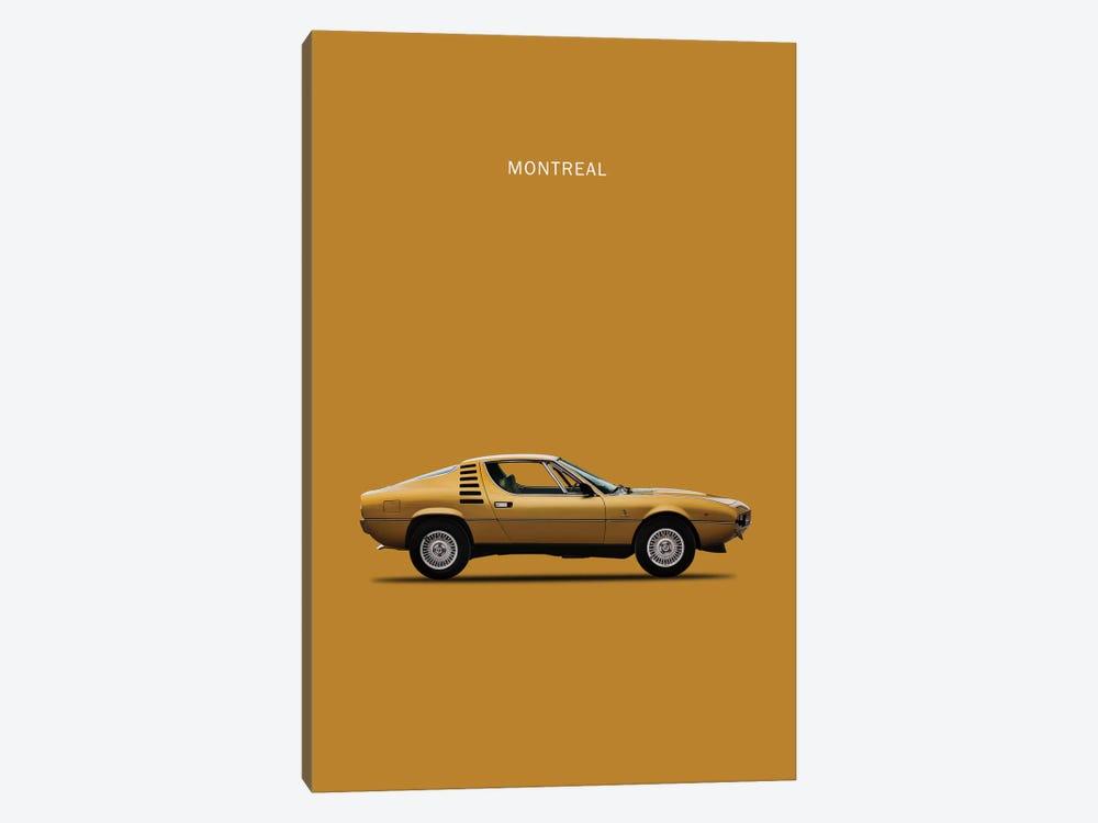 1972 Alfa Romeo Montreal by Mark Rogan 1-piece Art Print