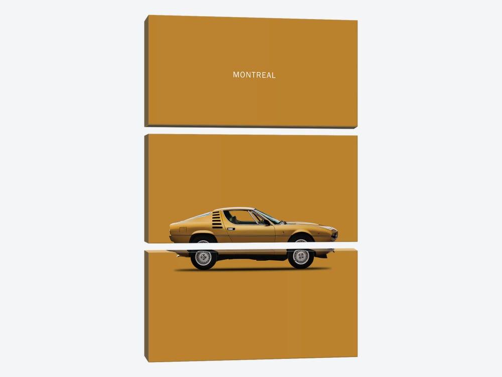 1972 Alfa Romeo Montreal by Mark Rogan 3-piece Art Print