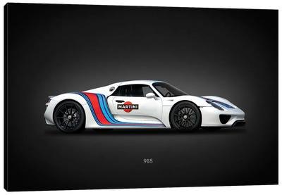 Porsche 918 Martini Canvas Art Print