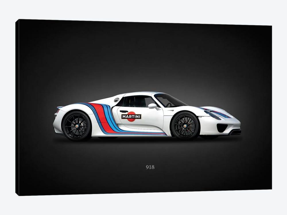 Porsche 918 Martini by Mark Rogan 1-piece Canvas Art