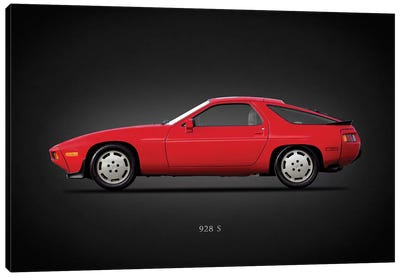 Porsche 928S 1986 Canvas Art Print