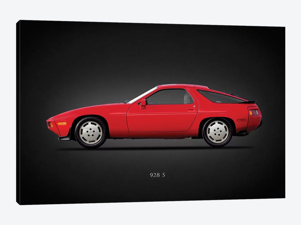 Porsche 928S 1986 by Mark Rogan 1-piece Art Print