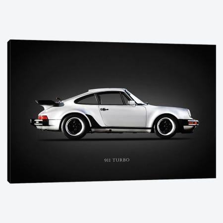 Porsche 930 911 Turbo 1984 Canvas Print #RGN643} by Mark Rogan Canvas Artwork