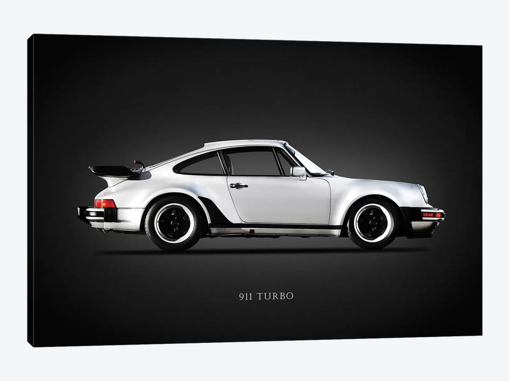 Porsche 930 911 Turbo 1984 by Mark Rogan 1-piece Canvas Wall Art