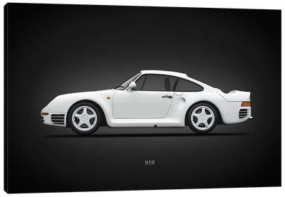 Porsche 959 Canvas Art Print