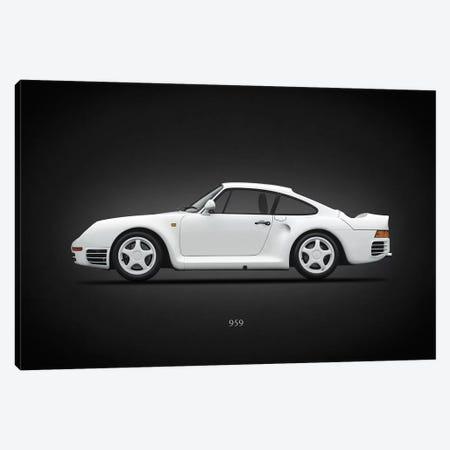 Porsche 959 Canvas Print #RGN646} by Mark Rogan Canvas Print