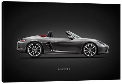 Porsche Boxster 718 Canvas Art Print