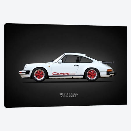 Porsche Carrera Club Sport '88 Canvas Print #RGN648} by Mark Rogan Canvas Artwork
