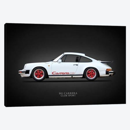 Porsche Carrera Club Sport '88 Canvas Print #RGN648} by Mark Rogan Canvas Artwork