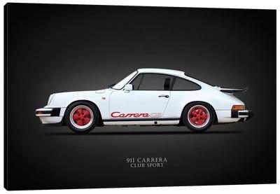 Porsche Carrera Club Sport '88 Canvas Art Print