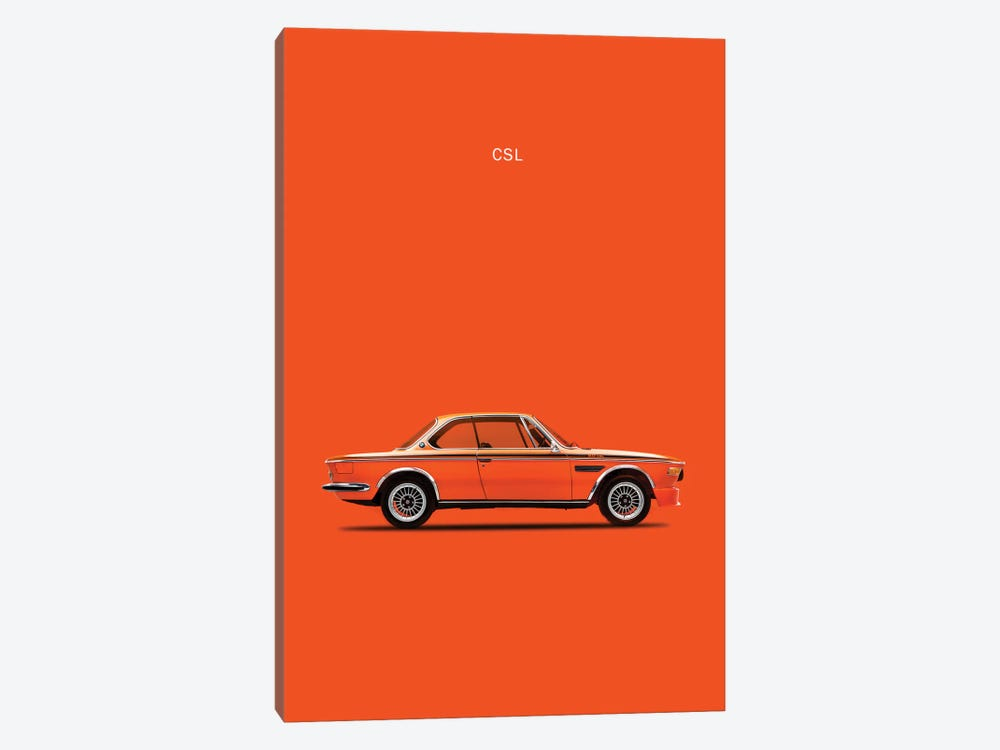 1972 BMW CSL 1-piece Canvas Artwork
