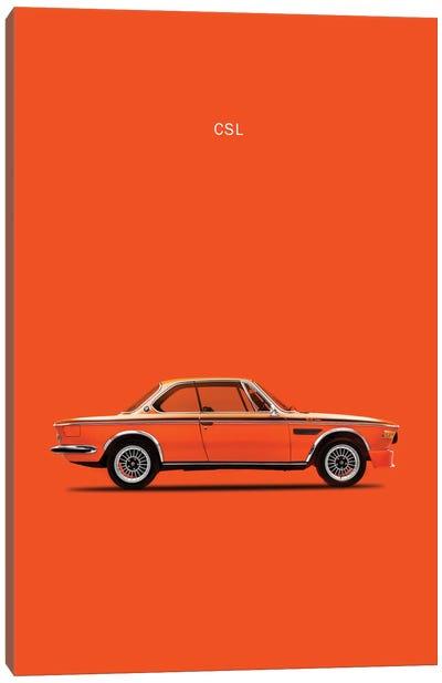 1972 BMW CSL Canvas Art Print