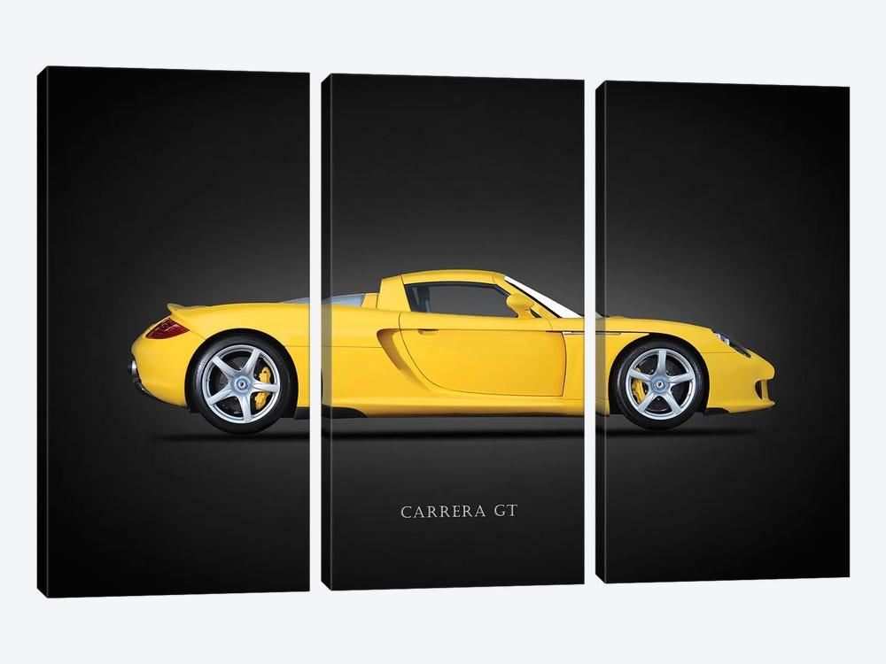 Porsche Carrera GT 2005 by Mark Rogan 3-piece Canvas Artwork