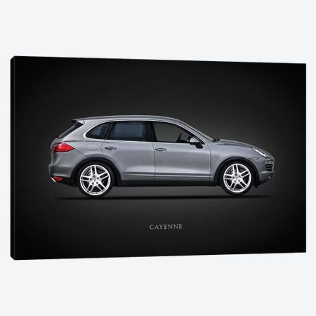 Porsche Cayenne Canvas Print #RGN653} by Mark Rogan Art Print
