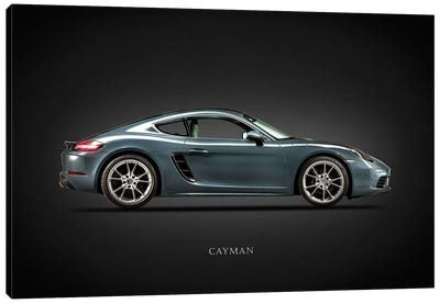 Porsche Cayman 718 Canvas Art Print