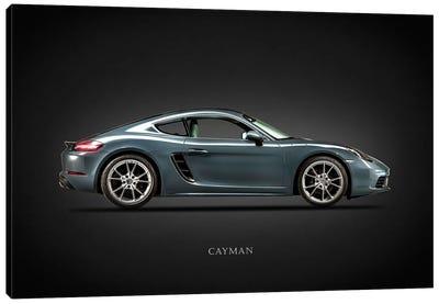 Porsche Cayman 718 Canvas Art Print
