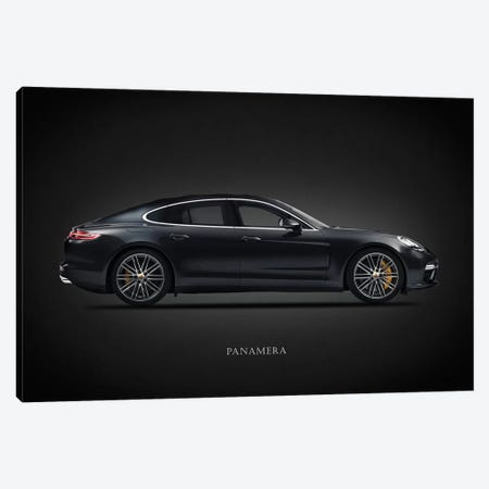 Porsche Panamera Canvas Print #RGN655} by Mark Rogan Canvas Art