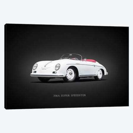 Porsche Super Speedster 1957 Canvas Print #RGN656} by Mark Rogan Canvas Wall Art