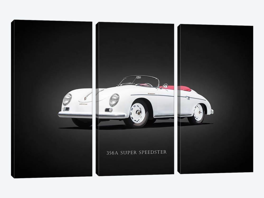 Porsche Super Speedster 1957 by Mark Rogan 3-piece Canvas Art