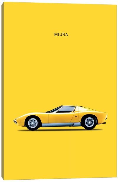 1972 Lamborghini Miura Canvas Art Print